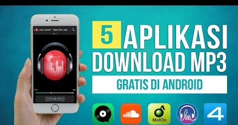 5 Aplikasi Download Lagu MP3 GRATIS Terbaik di Android
