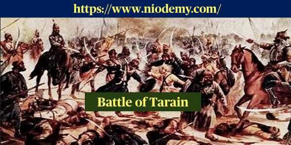 Battle of Tarain in hindi