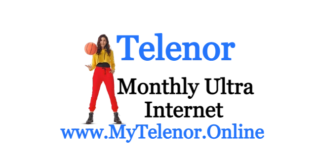 Telenor 4G Monthly Ultra Price 2021 | MYTelenor  |