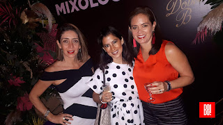 Majo Ochoa, Paola Cornejo y Betty Martínez.
