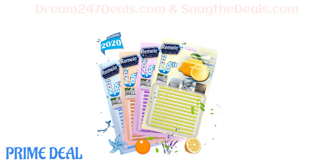 50% OFF [2020 Newest] Drain Cleaner Sticks, Non-Toxic Sink Clean Deodorizer for Kitchen Bathroom Drains Sinks Pipes Septic Tank Safe Drain Sticks- Prevents Clogged Drains in 4 Color Set