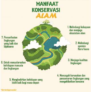 damaruta.com manfaat konservasi alam