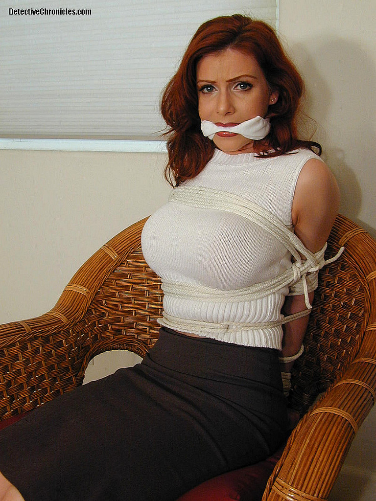 Hot milf gagged and ucked