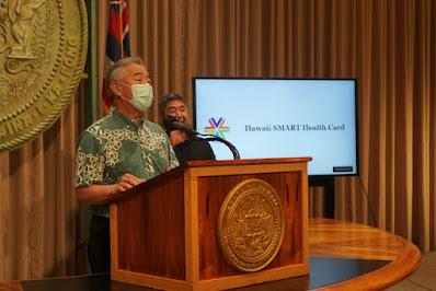 Ige announces vaccine passport, Honolulu morgue 83% over capacity, Hawaiian Airlines resumes American Samoa flights, more news from all the Hawaiian Islands