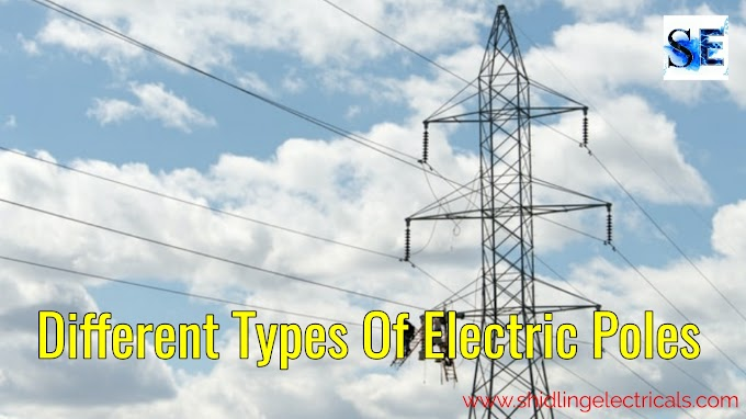 Different Types Of Electric Poles, PCC pole, RCC pole, Wooden Pole, Rail Pole, Steel Pole, Steel Tower
