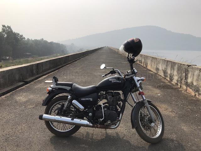 A visit to Sapuda Dam by Surajit Mishra