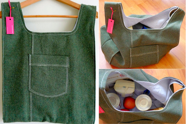 Hannah Redden - Upcycled Shopping Tote Bag