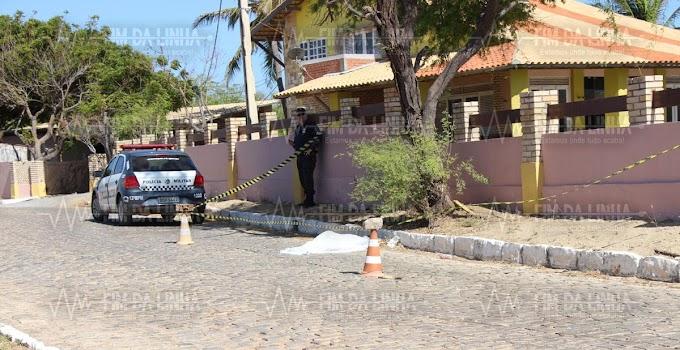 Homem é morto a tiros na praia das Emanuelas em Tibau