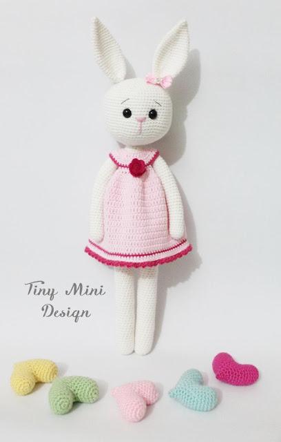 Mini Amigurumi Blog : Amigurumi Cracker Girl Bunny-Free Pattern Amigurumi Free ...