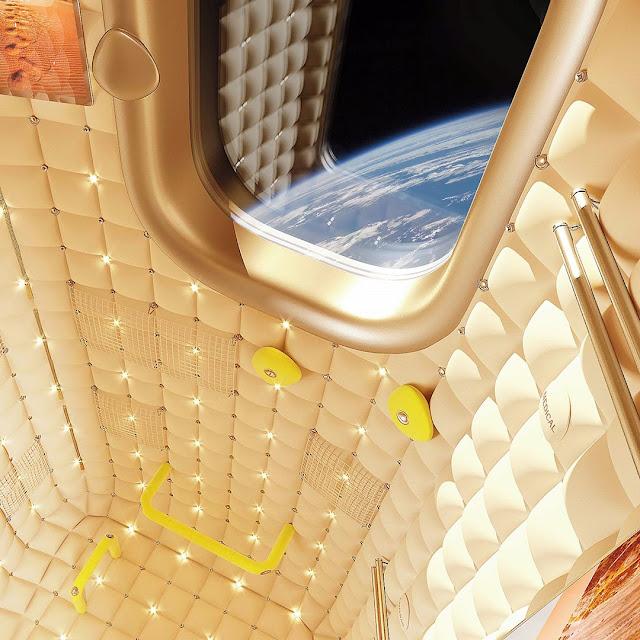 Cabine de luxo para ISS