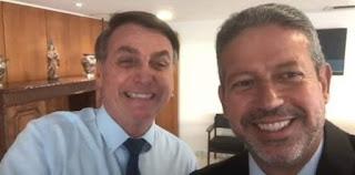 Arthur Lira é parceiro do Bolsonaro
