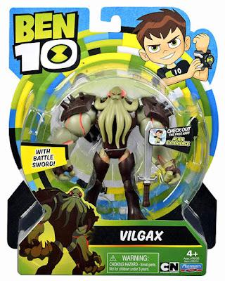 BEN 10 (Reboot) Vilgax Figura de acción - Muñeco  Producto Oficial Serie Boing 2019 | Playmates 76114 | A partir de 4 años  COMPRAR ESTE JUGUETE