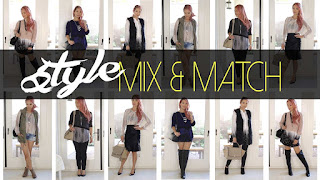 10 Best Ideas to Mix and Match your Outfits | Mix and Match Fashion