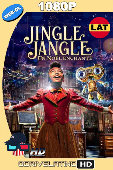 Jingle Jangle: Una Mágica Navidad (2020) NF WEB-DL 1080p Latino-Ingles MKV