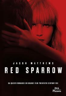 copertina Red Sparrow