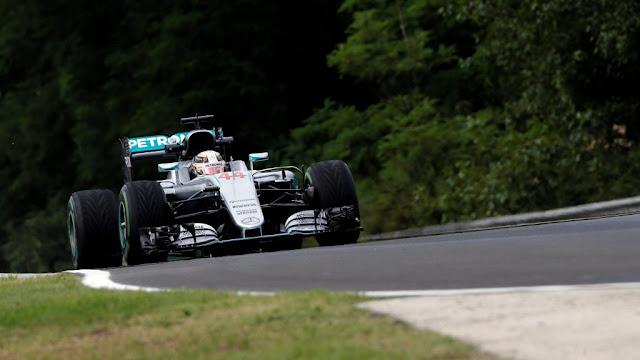 Latihan Bebas 1 GP F1 Hungaria : Hamilton Memimpin, Rio 20