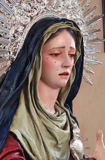 La Virgen de los Dolores, la nueva imagen para la parroquia de San Diego de Alcalá de Sevilla