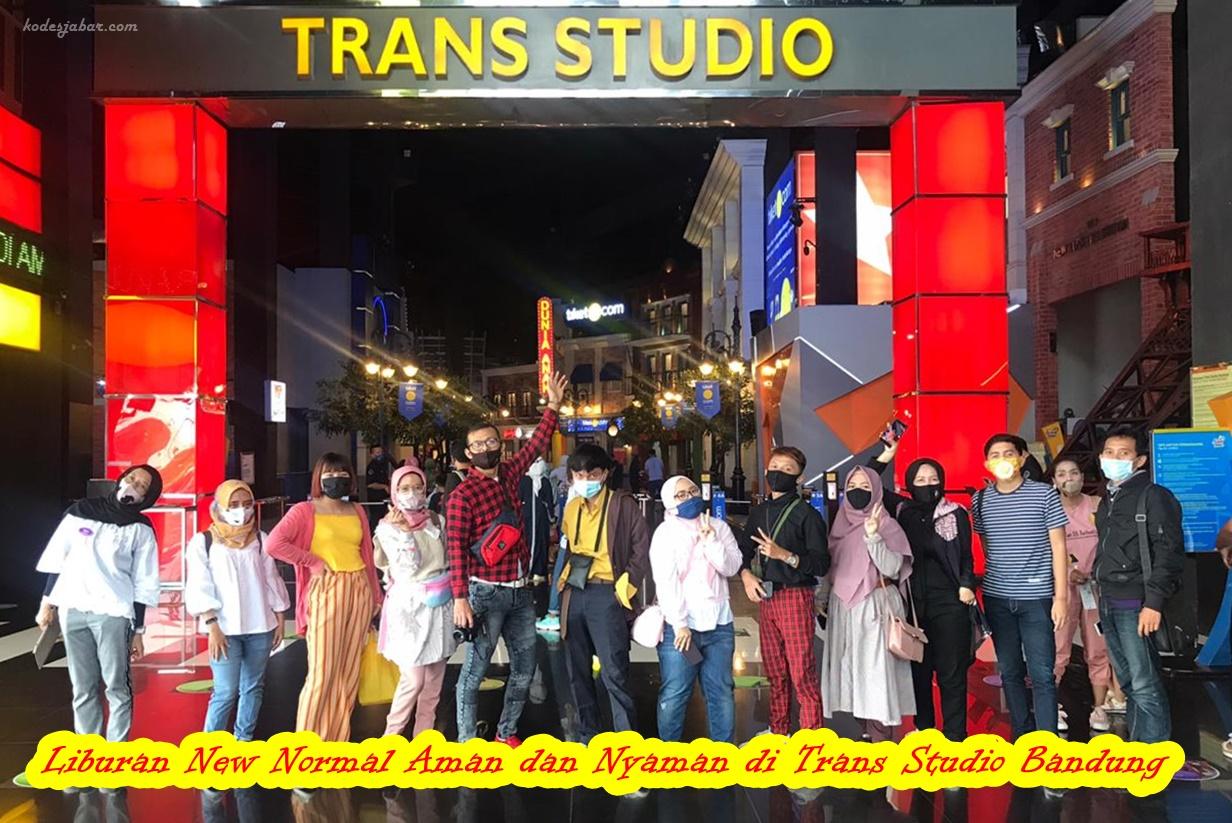 Liburan New Normal Aman dan Nyaman di Trans Studio Bandung