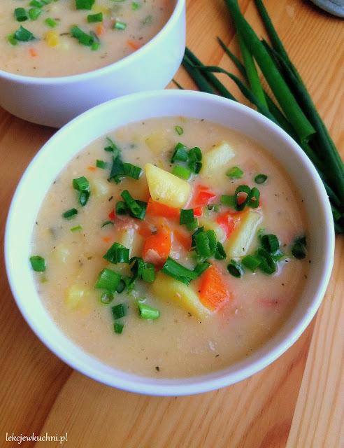 Zupa ziemniaczana z serem przepis