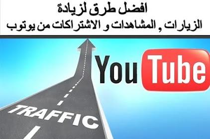 افضل برامج و مواقع  زيادة  المشاهدات و الاشتراكات في يوتيوب  2021