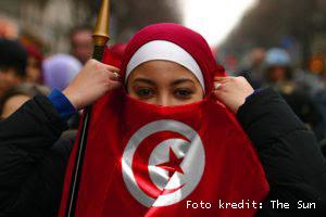 Wanita Tunisia kini bebas berkahwin dengan Non-Muslim