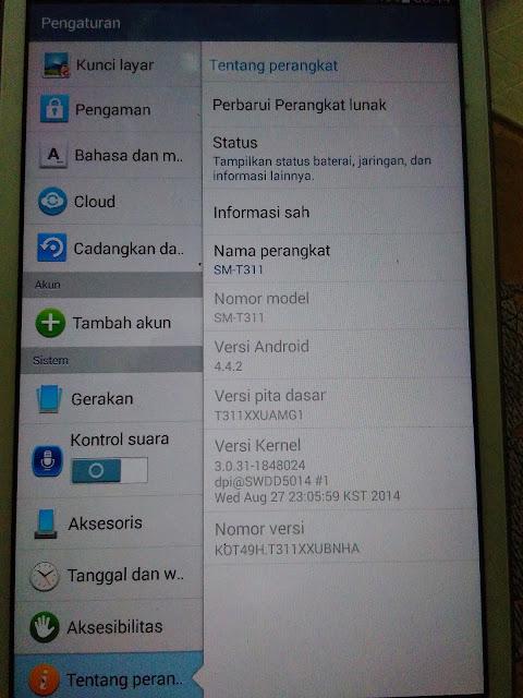 File fix imei cho Samsung Tab 3 (SM-T311) – Baseband unknown