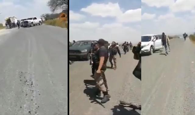 Masacrado a los masacrados El CJNG tunde a El Cártel de Sinaloa en Teocaltiche, Jalisco y festejan la victoria