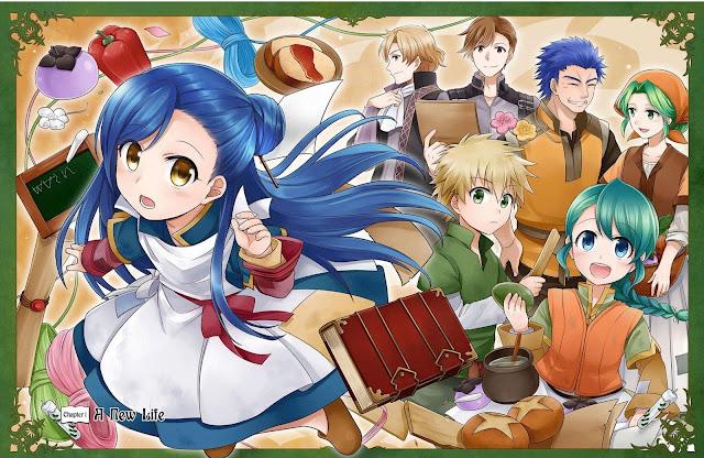 Cuarta parte de las novelas Honzuki no Gekokujou recibirán adaptación al manga