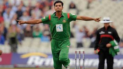 बांग्लादेश की क्रिकेट टीम के कप्तान मुशर्रफ मुर्तजा ने टी-20 इंटरनेशनल से लिया संन्यास