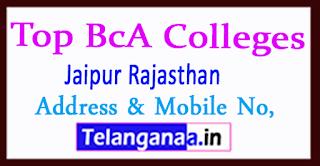 Top BCA Colleges in Jaipur Rajasthan