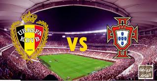 نتيجة المباراة بين المنتخبين البرتغال و بلجيكا ( يورو 2020 ) 27/6/2021