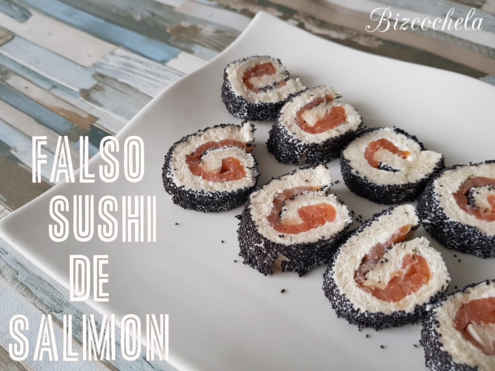 Recetas y a cocinar se ha dicho falso sushi de salm n - Cocinar sushi facil ...