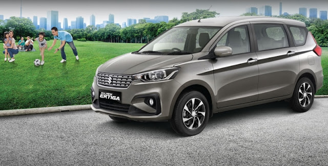 Spesifikasi dan Kisaran Harga Suzuki Ertiga Baru 2020