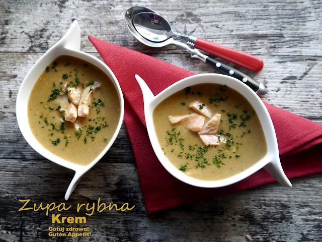 Zupa rybna - krem - Czytaj więcej »