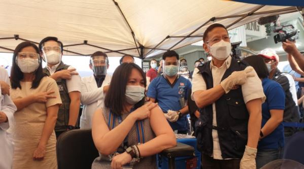 Philippines using AstraZeneca vaccines