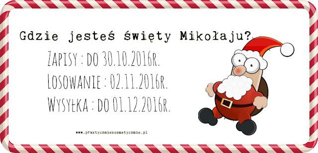 Mikołaju, gdzie jesteś? Blogowe Mikołajki- zapisy.