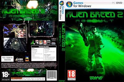 Jogo Alien Breed 2 - Assault PC DVD Capa