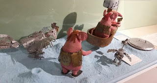 "Characters from ""The Clangers""."