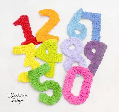 Free Numbers Crochet Pattern