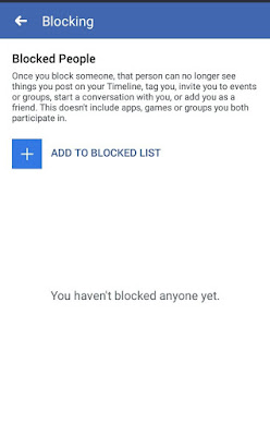 Blocked List On Facebook - How To See Facebook Blocked List