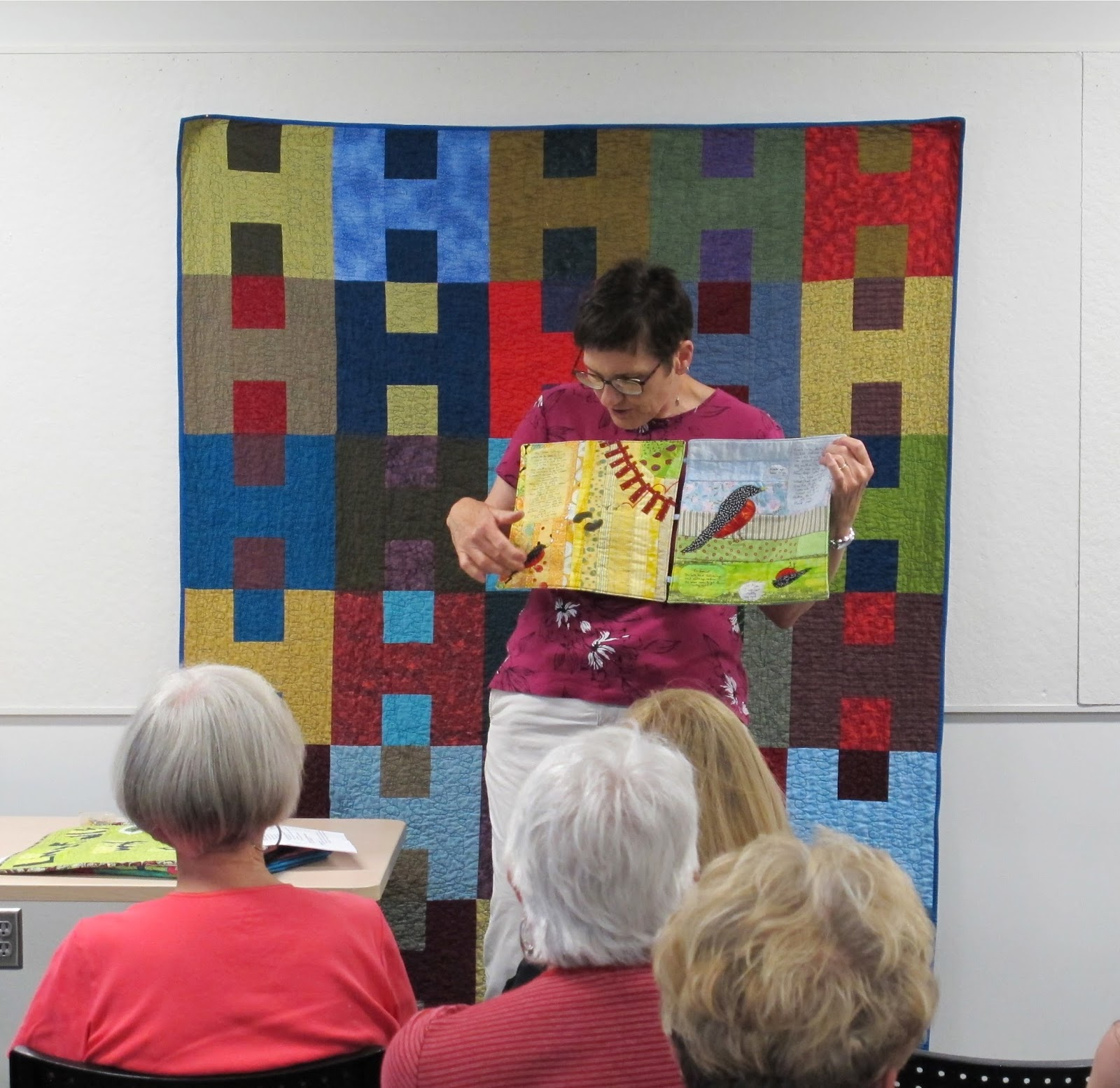 Lincoln Modern Quilt Guild: June 2016 : quilts by phyllis - Adamdwight.com