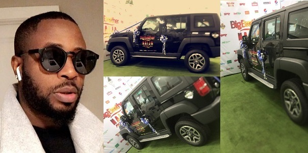 Tunde Ednut mocks the 'Home Made' BBNaija car gift to Mercy