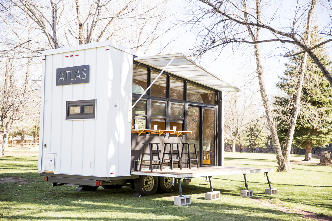 The Atlas a Luxury Tiny Home 196 Sq Ft TINY HOUSE TOWN
