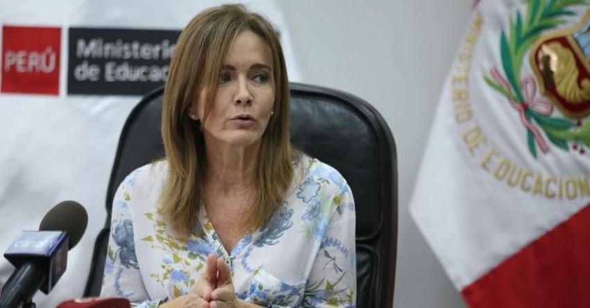 MINEDU: Hoy desde las 17:00 horas continúa reunión con docentes, informó la Ministra de Educación, Marilú Martens - www.minedu.gob.pe