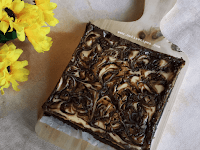 Resep Marble Cheesecake Brownies