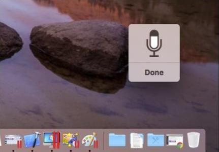 memberikan perintah suara pada mac