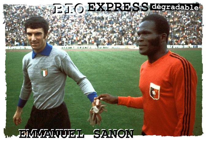 BIO EXPRESS DEGRADABLE. Emmanuel Sanon (1951-2008).