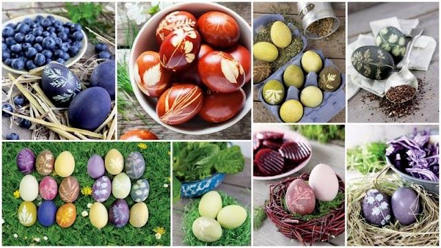 Πασχαλινά Αυγά: Παραδοσιακό & Οικολογικό βάψιμο με ζωμό λαχανικών-μπαχαρικών