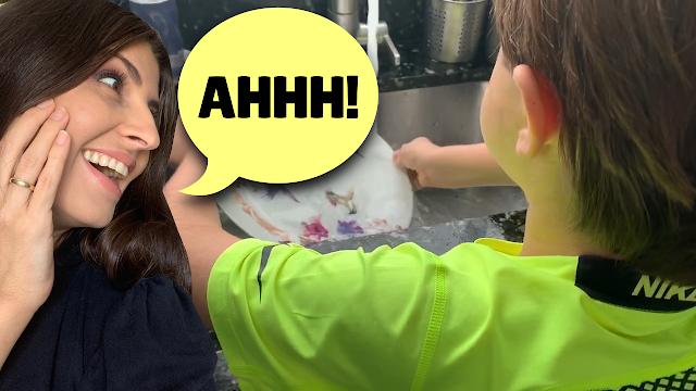 Como divido as tarefas domésticas com meus filhos