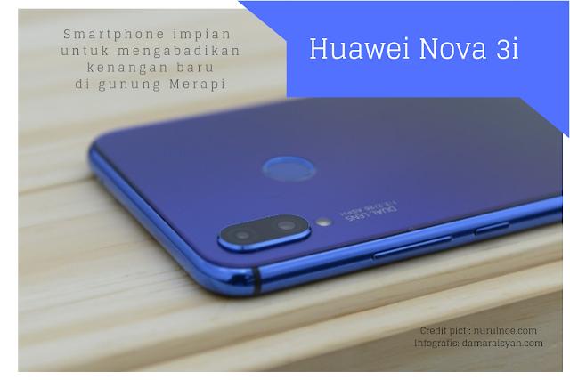 Mengabadikan Kenangan di Merapi dengan Huawei Nova 3i